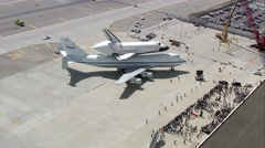 Space Shuttle Endeavour Stock Footage