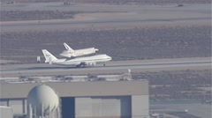Space Shuttle Endeavour - stock footage