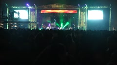 Concert Stage Stock Footage