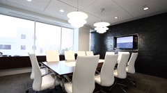 Conference Room - stock footage