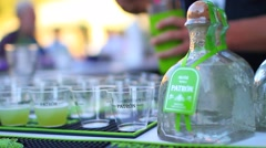 Tequila Shots - stock footage