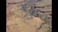 Grand Canyon, Arizona Colorado River 1964 Stock Footage