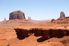 john ford point monument valley - stock photo