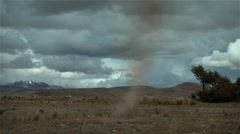 Mini tornado moving from right to left V.1 - stock footage