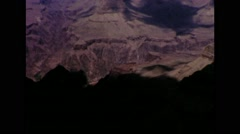 Grand Canyon 1964 Yavapai Point Stock Footage