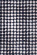 Stock Photo of black table cloth with grids