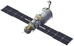 "International Space Station. Module ""Zvezda"" Stock Photos"