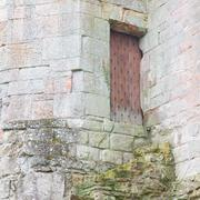 Stock Photo of details of an forgotten old scottish abbey