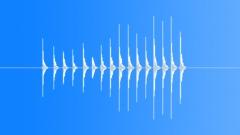 Nervous Door Knocks 2 - sound effect