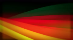 Colored thick lines rotate in an elegant movement Stock Footage