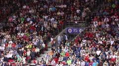 Stadium Crowd Stock Footage