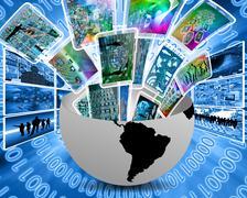 Stock Illustration of multimedia