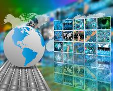 Telecommunications Stock Illustration