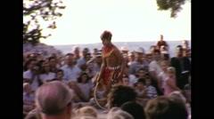 Hopi Dance Ritual 1964 Young Man Stock Footage