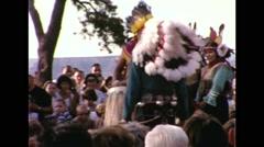 Hopi Dance Ritual 1964 Stock Footage