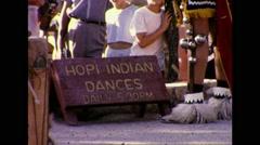 Hopi Dance Ritual 1964 Scene One Stock Footage