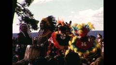 Hopi Dance Ritual Show 1964 Stock Footage