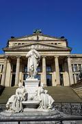 the concert house (konzerthaus), gendarmenmarkt, berlin, germany, europe - stock photo