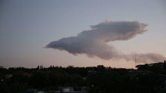 A Cloud of Smoke Stock Footage