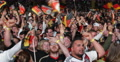 UltraHD 4K Crowd People Celebrating Cheering Goal Germany Team in World Cup 2014 Footage