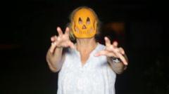 Stock Video Footage of night creature halloween