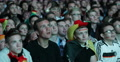 UHD 4K Positive Crowd People Portraits German Football Team Fans Supporters Footage
