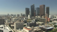 Time lapse of downtown Los Angeles - stock footage