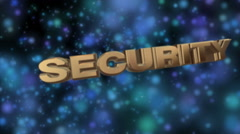 Internet security - stock footage