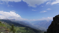 Swiss mountain time-lapse Stock Footage