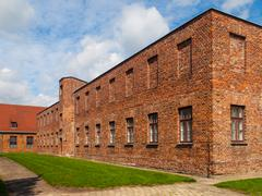 Brick barracks Stock Photos
