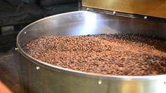 Coffee roaster Stock Footage