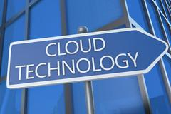 Cloud technology Stock Illustration