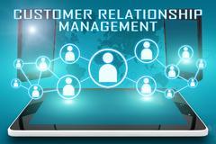 Customer relationship management Stock Illustration
