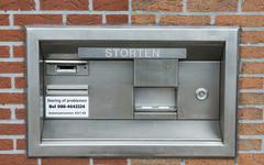 Deposit point Stock Photos