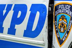 new york - jun 14: new york city police department car in new york city on ju - stock photo