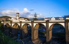 ribeira grande - stock photo