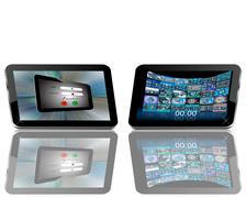 Tablet Stock Illustration