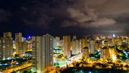 Stock Video Footage of 4K Night City Timelapse