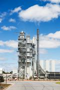 Stock Photo of modern industrial plant
