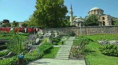 Chora Museum - Church in Istanbul Stock Footage