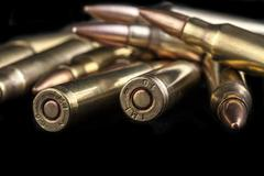 Stock Photo of bullets back
