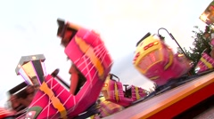 County fair attraction stock video Stock Footage