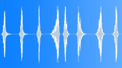Medium Low Whoosh Set (8 item) (Pack, Bundle, Set) Sound Effect