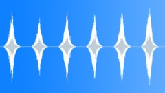 Long Space Hissing Whoosh Set (6 items) (Pack, Bundle, Set) Sound Effect