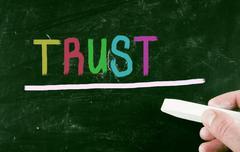 Stock Illustration of trust concept