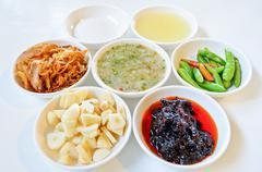 Thai food condiment Stock Photos