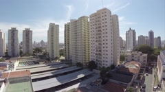 Aerial view from some buildings in Sao Paulo, Brazil Stock Footage