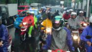 Stock Video Footage of Traffic in Jakarta