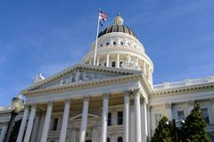 Sacramento california capitol Stock Photos