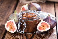 fig marmalade - stock photo